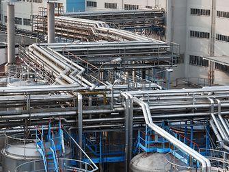 Der Waschmittel-Produktionsstandort Lomazzo, Italien