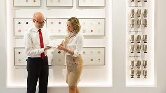 Global Experience Center: Dr. Arndt Scheidgen und Kerstin Reintges