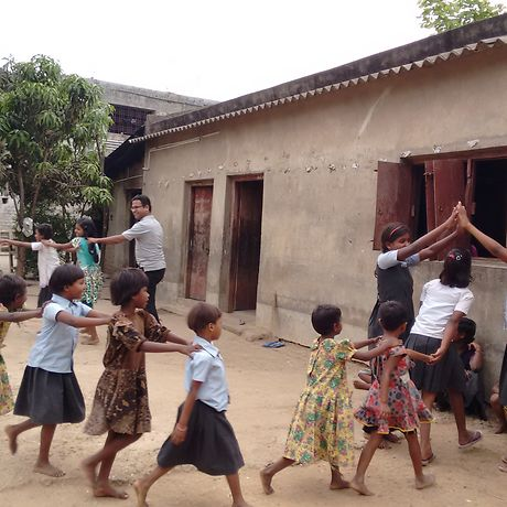 India: This project helps provide education to poor, rural children.