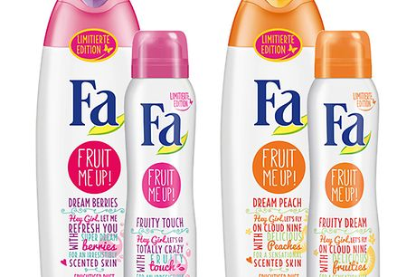 Fa Fruit me up! Produkte