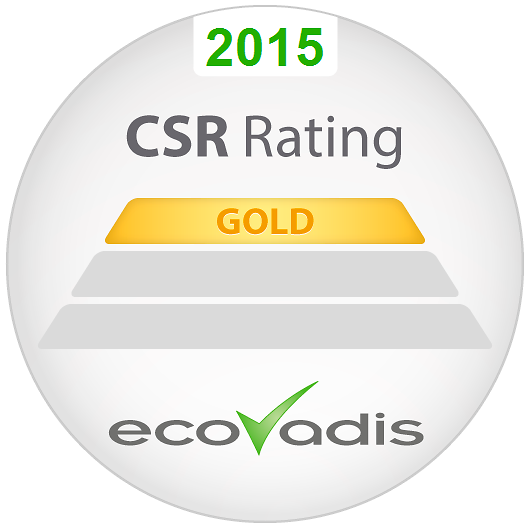 Henkel erhält von EcoVadis ein Corporate Social Responsibility-Rating in Gold.
