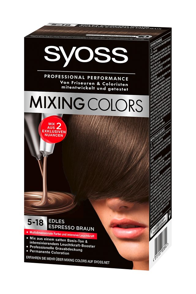 Syoss Mixing Colors Edles Espressobraun (10-5)