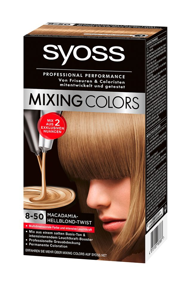 Syoss Mixing Colors Macadamia-Hellblond Twist (8-50)