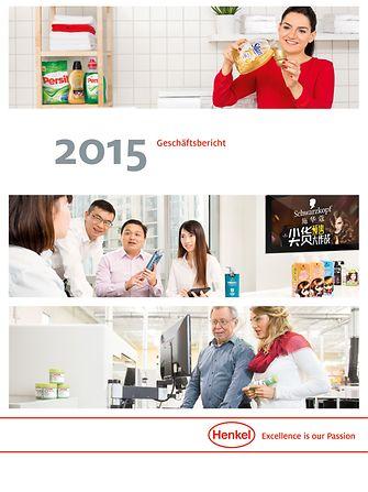 2015 Geschäftsbericht Cover