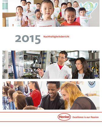 2015 Nachhaltigkeitsbericht Cover