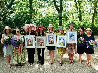 Henkel-Renntag 2016: Beim Schwarzkopf Hut-Contest prämierte die Jury die fünf schönsten Hüte