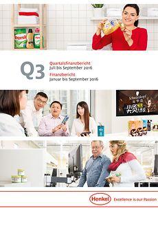 Q3 2016 Bericht Cover
