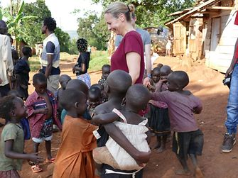"""""""Sometimes you just don't have enough fingers for all the children who want to hold on to them,"""" says Gabriele Haak with glowing eyes."""