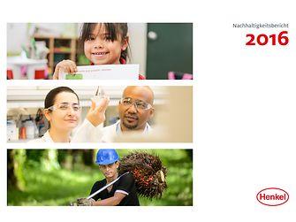 2016 Nachhaltigkeitsbericht Cover