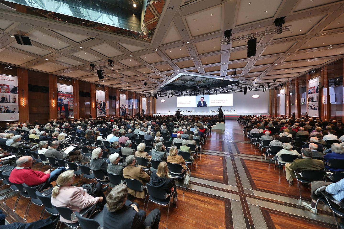 Henkel-Hauptversammlung in Düsseldorf
