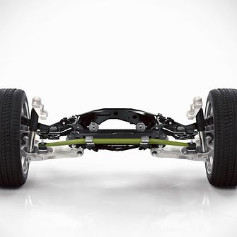 The composite leaf spring with which Volvo saves 4.5 kilograms of weight