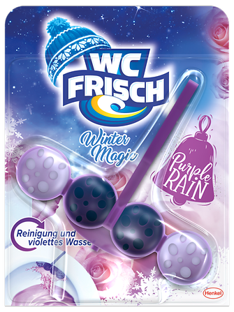 "WC Frisch Winter Magic Edition in der Variante ""Purple Rain"""