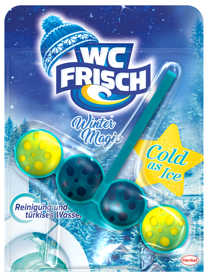 "WC Frisch Winter Magic Edition in der Variante ""Cold as Ice"""