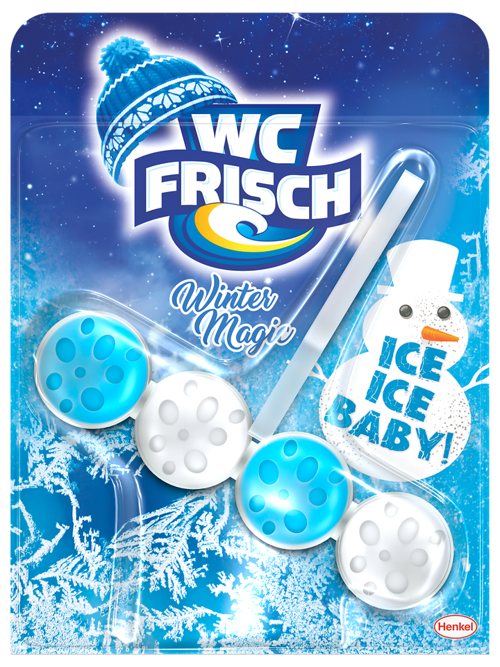 "WC Frisch Winter Magic Edition in der Variante ""Ice Ice Baby"""