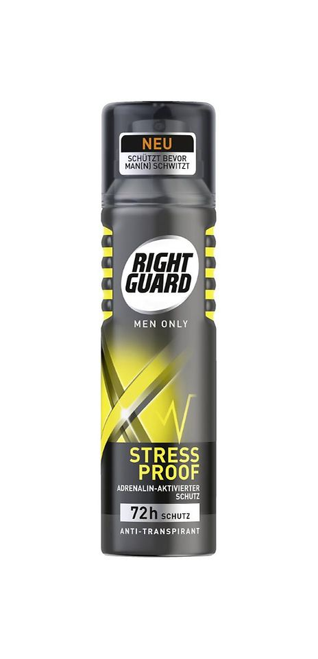Right Guard Stress Proof