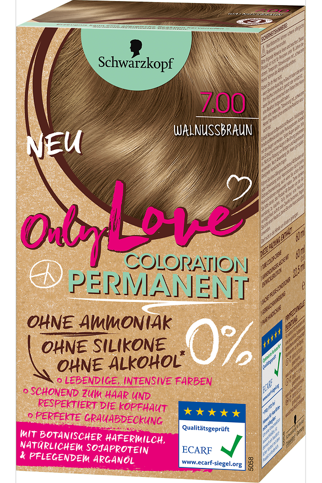 Only Love Walnussbraun 7.00