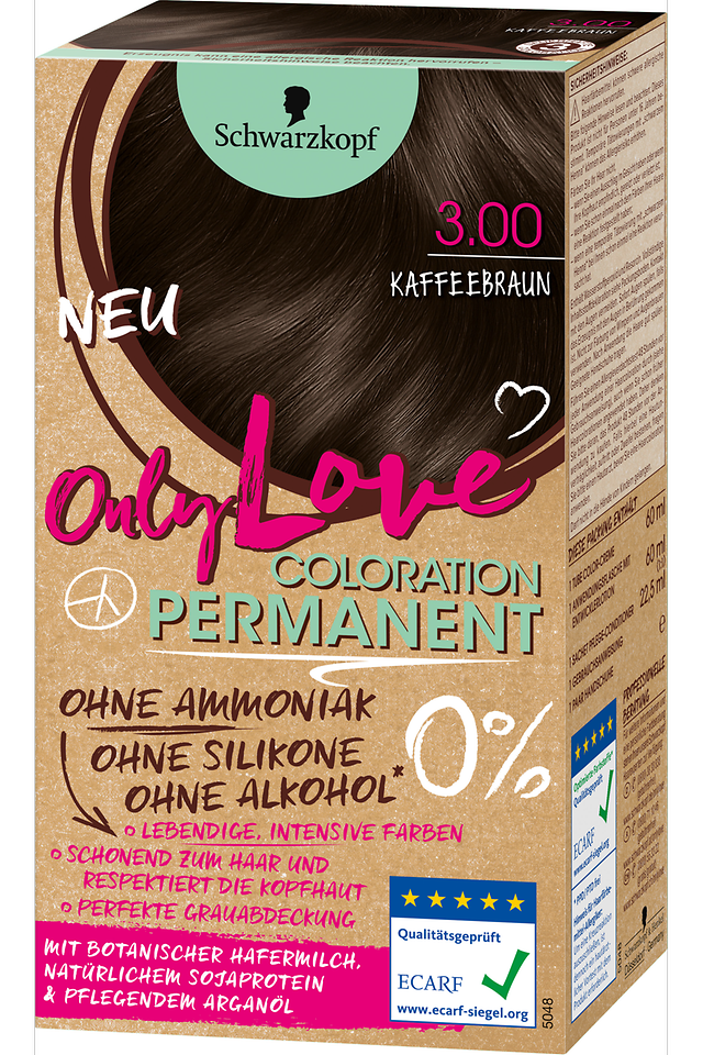 Only Love Kaffeebraun 3.00