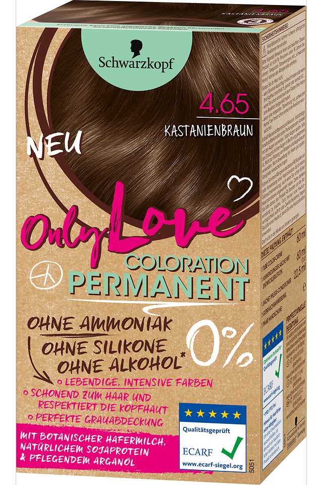 Only Love Kastanienbraun 4.65