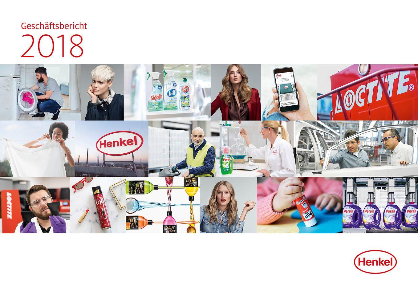 2018 Geschäftsbericht Cover