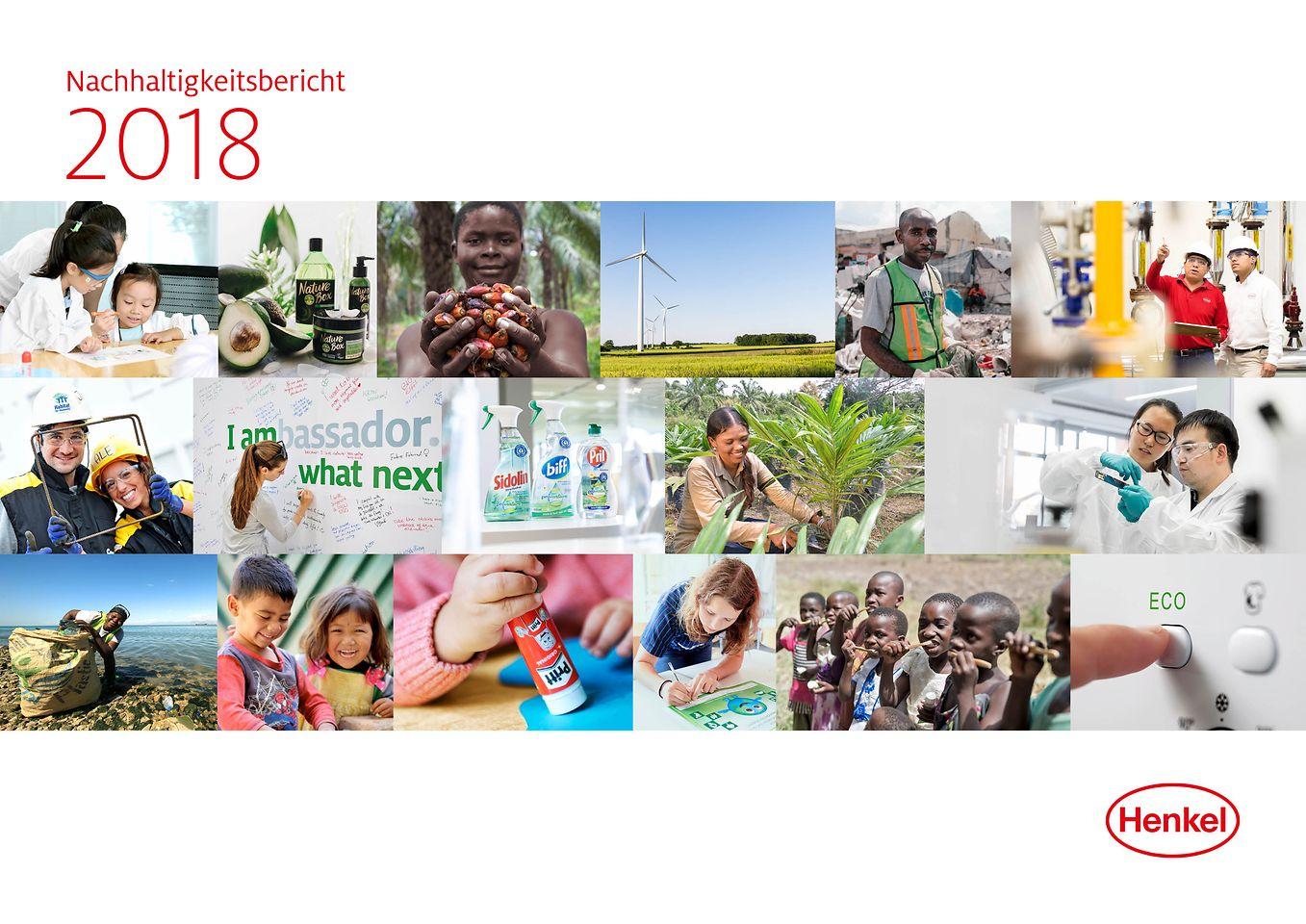 2018 Nachhaltigkeitsbericht Cover