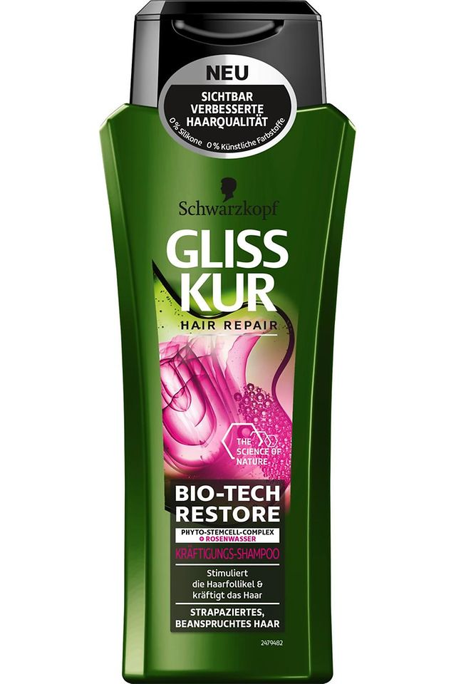 Gliss Kur Bio-Tech Restore Kräftigungs-Shampoo