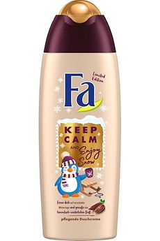 Fa Winter Limited Edition Keep Calm and Enjoy Snow Duschcreme
