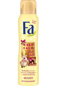 Fa Winter Limited Edition Keep Calm and Love Winter Anti-Flecken-Deodorant