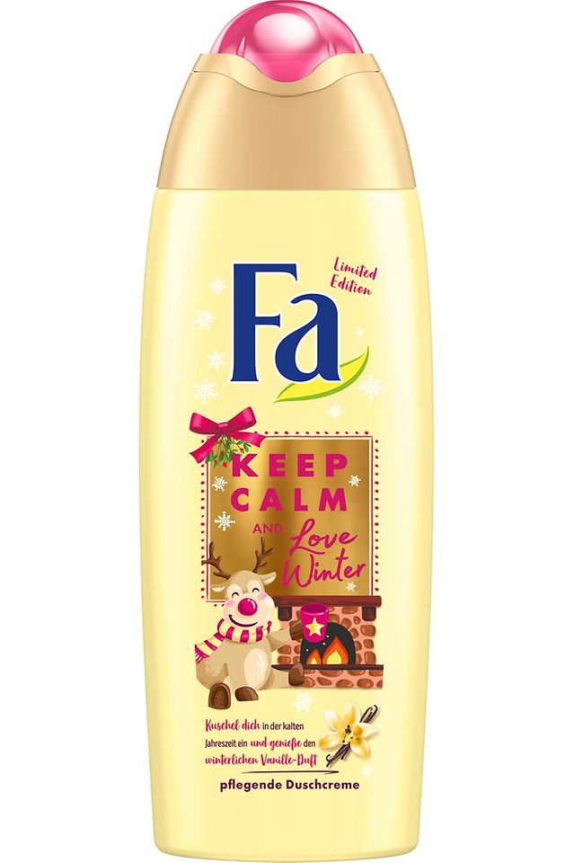 Fa Winter Limited Edition Keep Calm and Love Winter Duschcreme